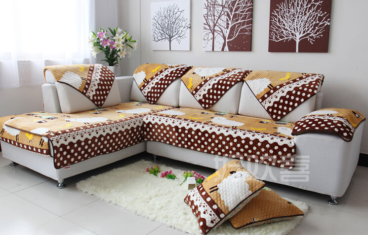 Sofa covers with cushion covers cushion covers for wooden for How to cover furniture with fabric